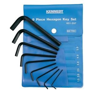 Kennedy KEN-601-2970K Walleted Sets Hexagon Keys