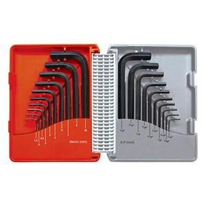 Kennedy KEN-601-1060K Metric and Inch Set Hexagon Keys