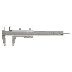 Mitutoyo 532-101 Metric with Fine Adjustment Vernier Caliper