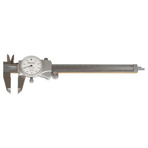 "Mitutoyo 505-742 Inch with 1"" Per One Revolution Dial Caliper"