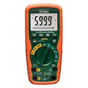 Extech EX520 CAT IV Heavy Duty True RMS Multimeter