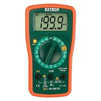 Extech MN35 Manual Ranging 8 Functions Digital Mini Multimeter 1