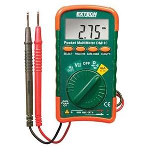 Extech DM110 Autoranging Mini Pocket Multimeter