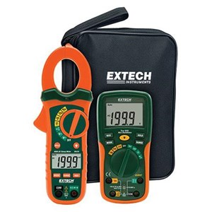 Extech ETK30 Clamp Meter 400 A with Electrical Test Kit