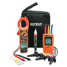 Extech MA640-K Phase Rotation and Clamp Meter Test Kit
