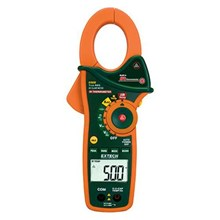 Extech EX820 IR Thermometer and True RMS AC 1000 A Clamp Meter