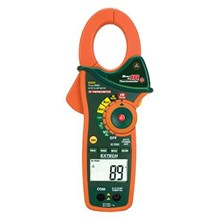 Extech EX830 IR Thermometer and True RMS AC-DC 1000 A Clamp Meter