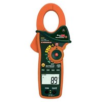 Extech EX840 IR Thermometer and True RMS AC-DC 1000 A Clamp Meter 1