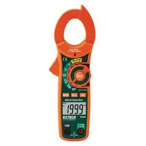 Dari Extech MA250 Voltage Detector 200 A and Mini Clamp Meter 0