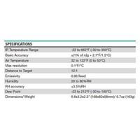 Jual Extech IRT600 Dual Laser IR Thermal Condensation Scanner 2