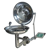 CIG 21CIG15011300 Stainless Steel Wall Mounted with Flange Eye Wash 1