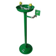 CIG 21CIG15013500 Galvanised and Painted Pedestal Mounted Eye Wash