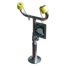 CIG 21CIG15012020 Stainless Steel Countertop Mounted Laboratory Eye Wash