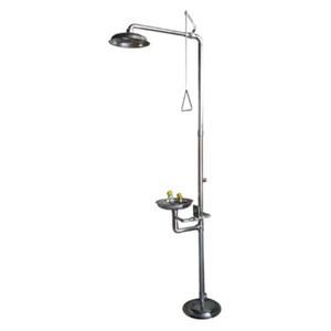 CIG 21CIG15031000 Stainless Steel Pedestal Mounted Eye Wash