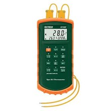 Extech 421502 Type J-K Dual Input with Alarms Thermometer