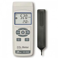 Lutron GC-2028 CO2 Meter and Temperature