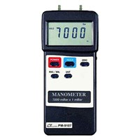 Jual Lutron PM-9107 Differential Input Manometer
