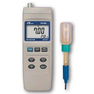 From Lutron PH-208 PH Meter 0