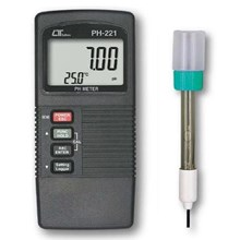 Lutron PH-221 ATC Two Displays PH Meter