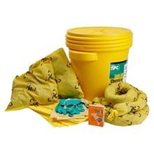 Brady SKCH-20 Brightsorb High Visibility Lab Pack Spill Kit