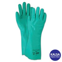 Ansell Sol-Knit 39-124 Nitrile Immersion Chemical and Liquid Protection Glove