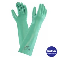 Ansell Sol-Vex 37-185 Nitrile Immersion Chemical and Liquid Protection Glove