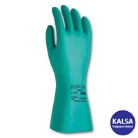 Ansell Sol-Vex II 37-676 Nitrile Immersion Chemical and Liquid Protection Glove