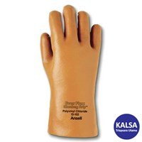 Ansell Ever-Flex 13-152 PVC Immersion Chemical and Liquid Protection Glove