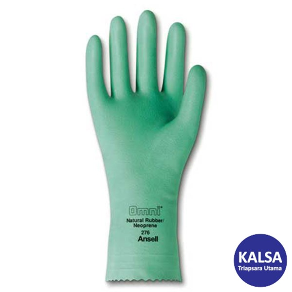 Ansell Omni 87-276 Natural Rubber Latex Chemical and Liquid Protection Glove