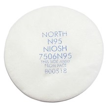 Honeywell 7506N95 N95 Prefilter North Particulate Filter