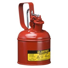 Justrite 10101 Type I Red Small Capacity Trigger Safety Container