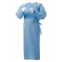 Trasti TSG 901 Standard Surgical Gown with Rib