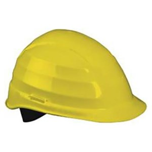 Catu MO-182-1-J Yellow ABS Helmet Head Protection