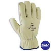 Uvex 60291 Top Grade 8400 Mechanical Risks Leather Glove