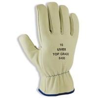Uvex 60291 Top Grade 8400 Mechanical Risks Leather Gloves 1
