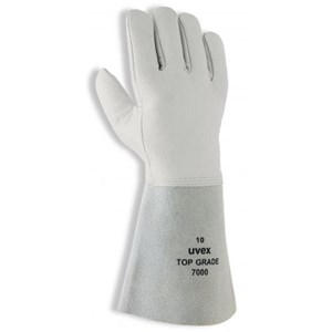 Uvex 60287 Top Grade 7000 Mechanical Risks Leather Gloves