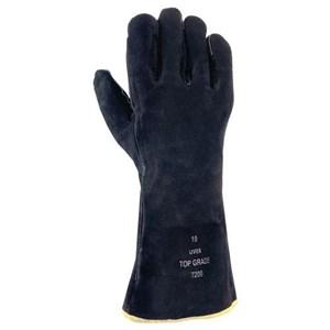 Uvex 60297 Top Grade 7200 Mechanical Risks Leather Gloves
