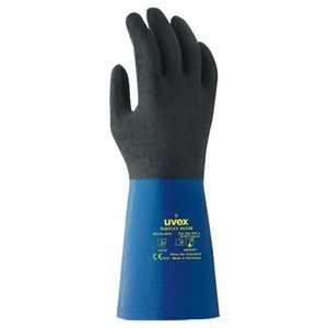 Uvex 60557 Rubiflex S XG35B Chemical Risks Gloves