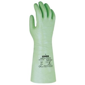 Uvex 98891 Rubiflex S NB35S Chemical Risks Gloves