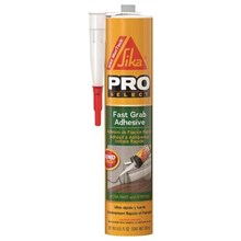 Sika 463638 MaxTack Fast Grab Adhesive Bonding and Anchoring