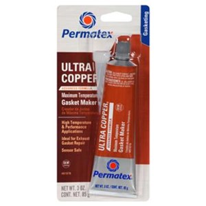 Permatex 81878 Ultra Copper Maximum Temperature RTV Silicone Gasket Maker