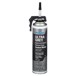 Permatex 85084 Ultra Grey Rigid High Torque RTV Silicone Gasket Maker