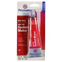 Permatex 81160 High Temperature Red RTV Silicone Gasket Maker 1