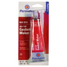 Permatex 81160 High Temperature Red RTV Silicone Gasket Maker