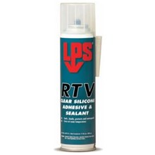 LPS 03712 RTV Clear Silicone Adhesive and Sealant Grease Cleaner