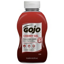 Gojo 2354-08 Cherry Gel Pumice Heavy Duty Hand Cleaners
