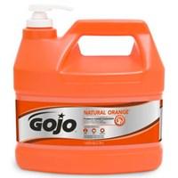 Gojo 0955-02 Natural Orange Pumice Heavy Duty Hand Cleaners 1