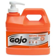 Gojo 0958-04 Natural Orange Pumice Heavy Duty Hand Cleaners