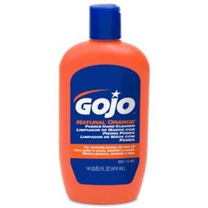 Gojo 0957-12 Natural Orange Pumice Heavy Duty Hand Cleaners