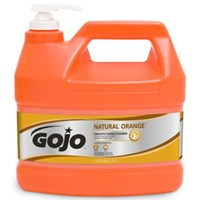 Gojo 0945-04 Natural Orange Smooth Heavy Duty Hand Cleaners 1